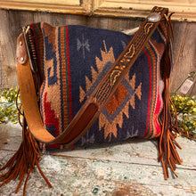 Load image into Gallery viewer, Espuela Comanche Moon Tote Saddle Blanket Handcrafted