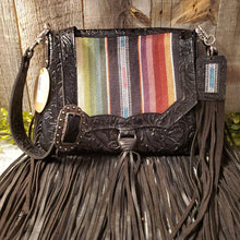 Load image into Gallery viewer, H&M Valley Saddlebag Half Pint Black Serape