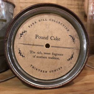 Park Hill Pound Cake Candle