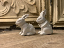 Load image into Gallery viewer, Tuck Bunny Salt And Pepper Shaker