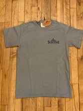 Load image into Gallery viewer, The Bent & Rusty Gas Station Stone Grey T-shirt