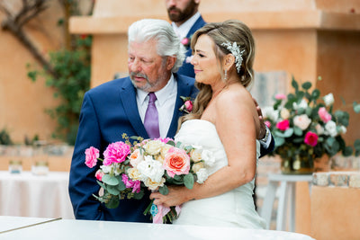 Connie + Paul's Royal Palms Brunch Wedding