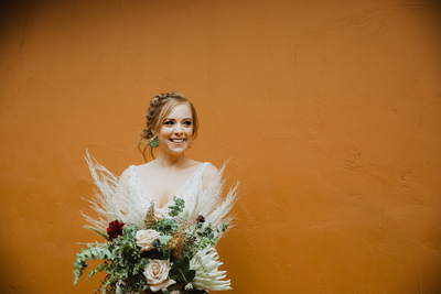 Jessica + Joey's Boho Tlaquepaque Wedding