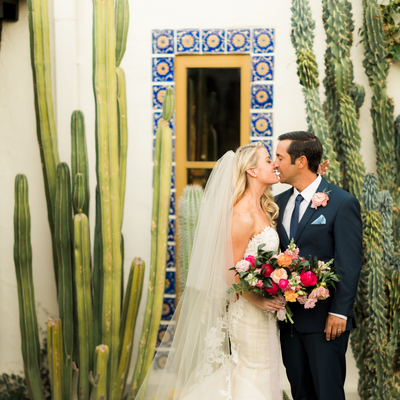Kaycie + Ryan's Colorful Fall Wedding