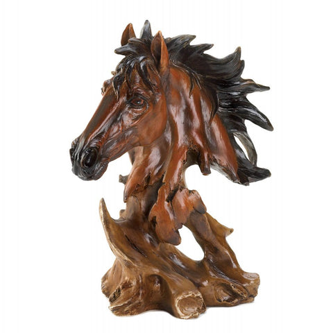 Magnificent Horse Bust