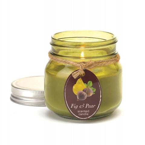 Fig & Pear Mason Jar Candle