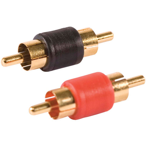 Db Link Plastic-grip Gold Barrel Connectors 2 Pk (male And Male)