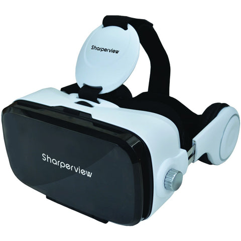 Supersonic Virtual Reality Headset With Built-in Stereo Headphones