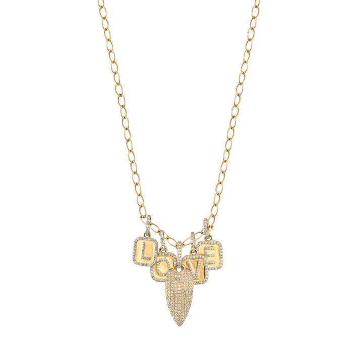 "14K Gold ""Maria"" Love Necklace"