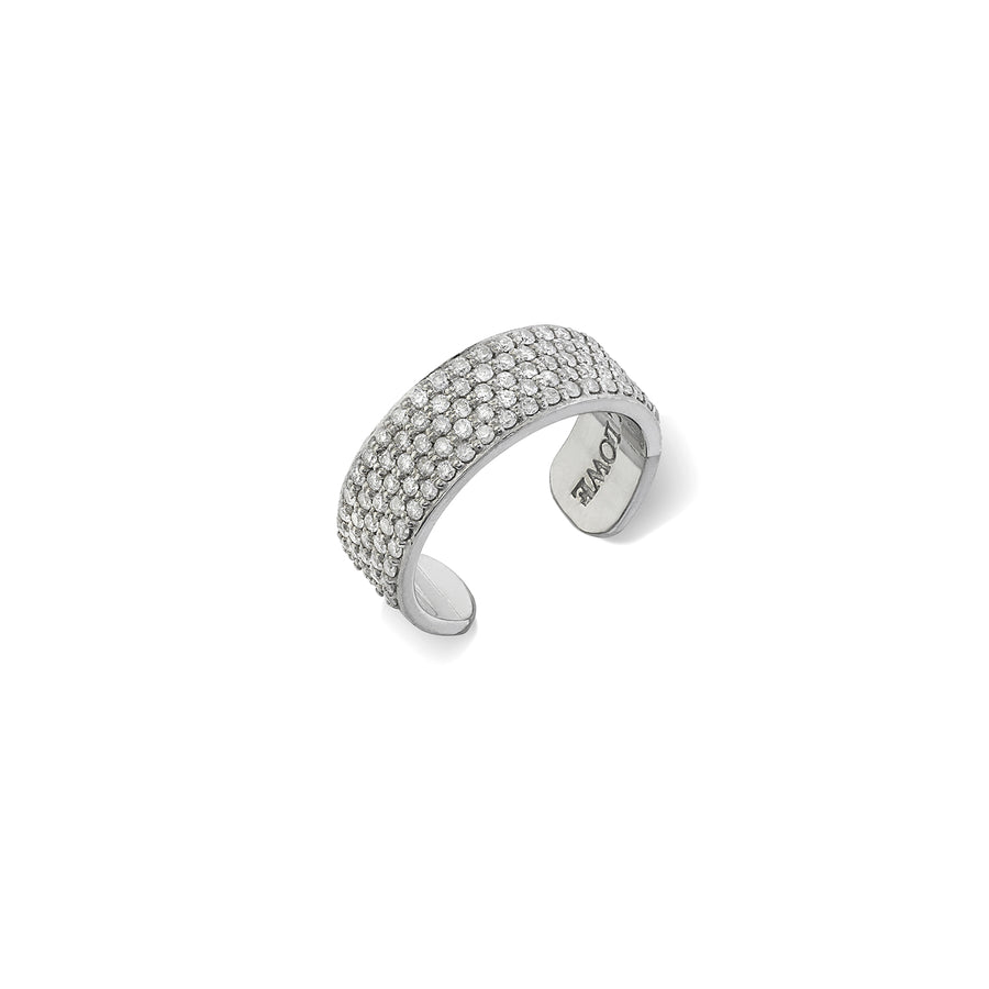 Mini Diamond Cuff Ring