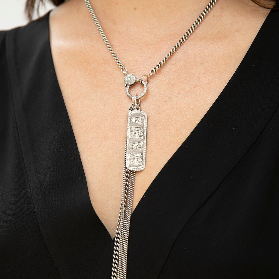 MAMA Dog Tag Necklace