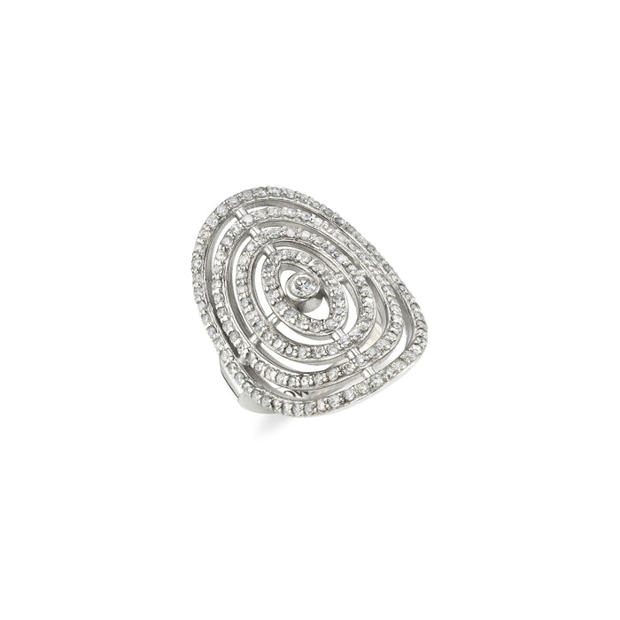 PAVÉ DIAMOND ORBIT RING