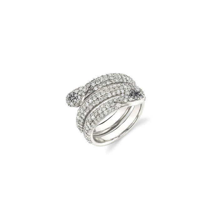 PAVÉ DIAMOND SNAKE RING