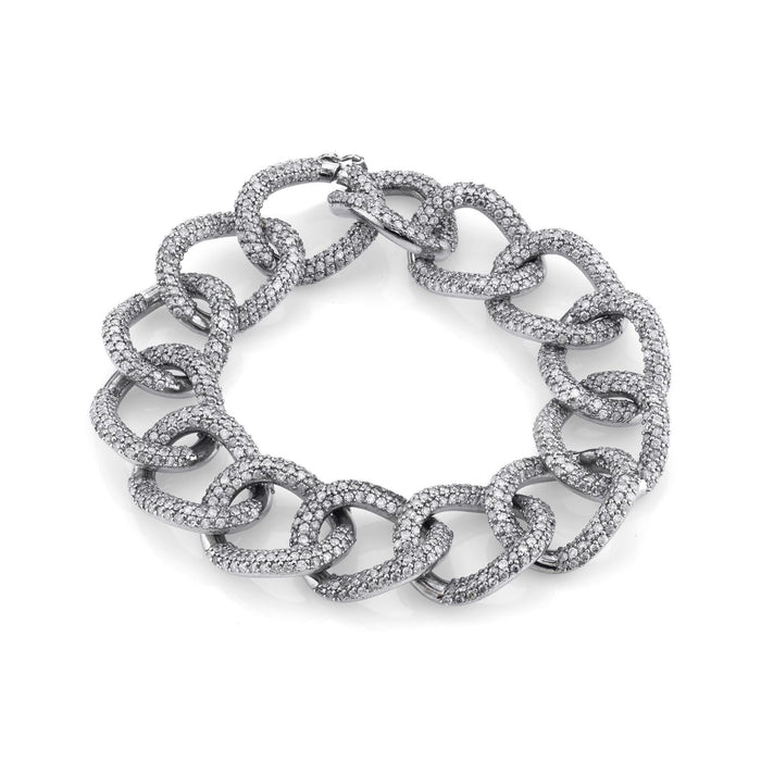 PAVÉ DIAMOND LONDON CHAIN BRACELET