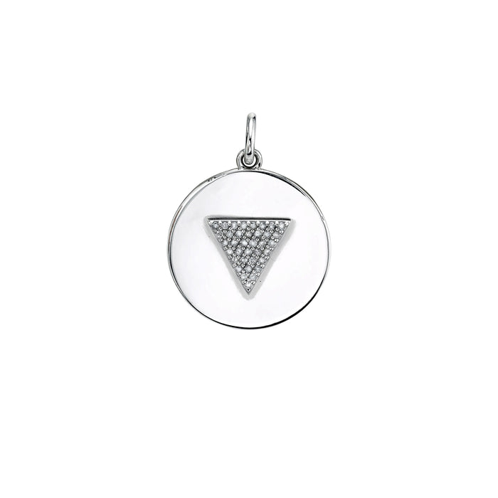 ROB PAVÉ DIAMOND PENDANT