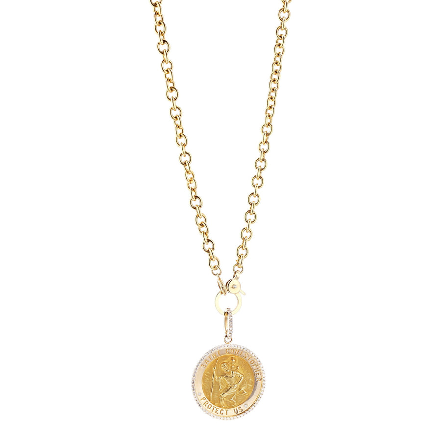 14k Saint Christoper
