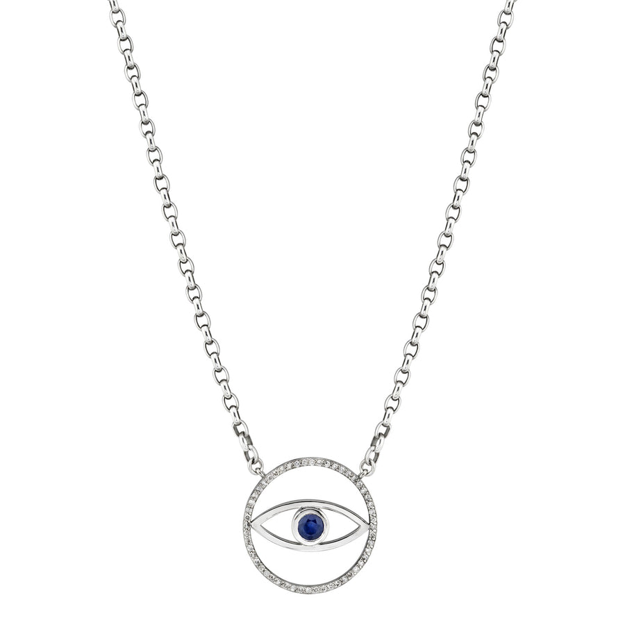 Evil Eye Pendant Chain Necklace
