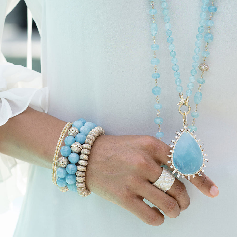 Navigate the Waters Trunk Show: An Aquamarine and Gold Story