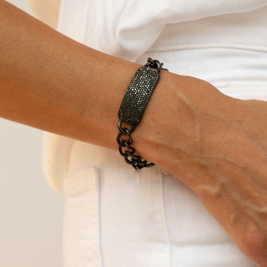 Black Diamond ID Bracelet