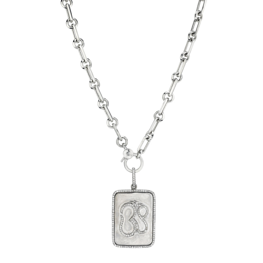 OM Tag Soho Chain Necklace