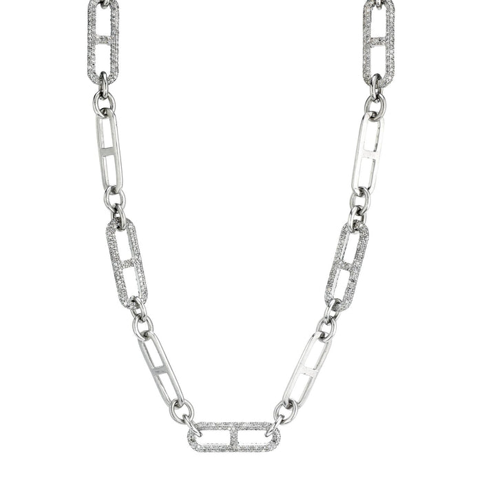 H LINK CHAIN NECKLACE