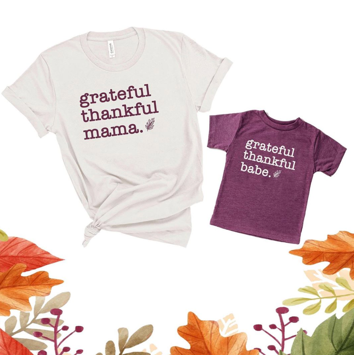 Grateful Thankful - October 2020 Shirt