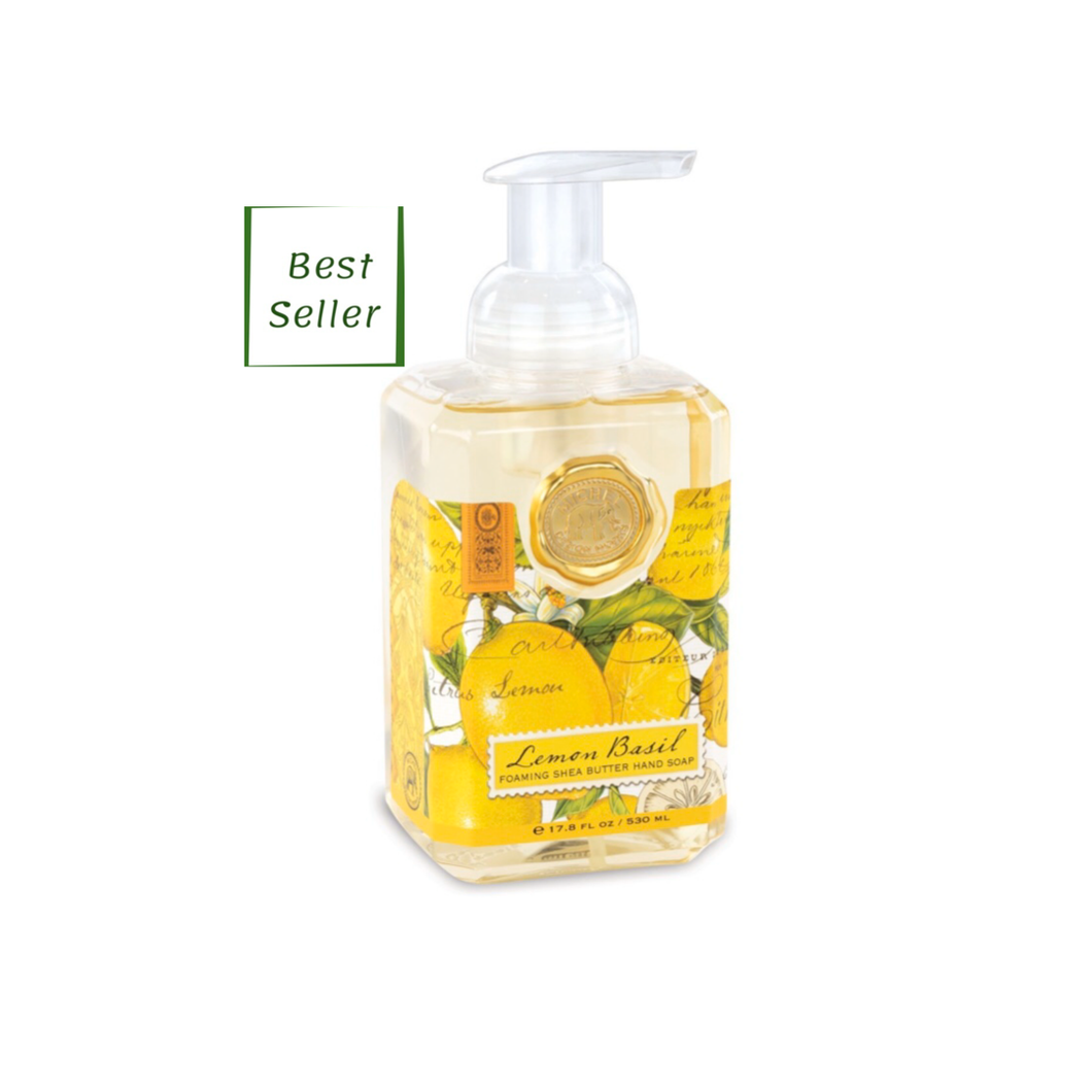 Foaming Soap- Lemon Basil