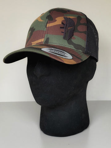 CAMO TRUCKER 'GOING DARK'