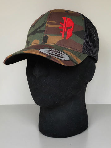 CAMO TRUCKER 'SPARTAN RED'