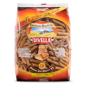 Divella Penne Rigate Whole Wheat 1.1lb