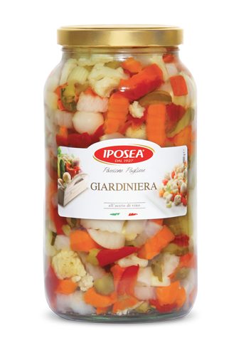 Iposea Pickled Vegetables 6.8lb