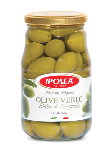 Green Olives Cerignola 580ml
