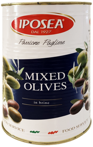 Mixed Olives in Brine 6.8lb