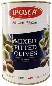 Pitted Mixed Olives in Brine 6.6lb