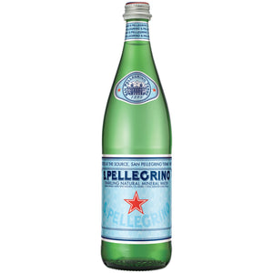 San Pellegrino Water Glass  33.8oz