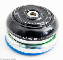 Load image into Gallery viewer, Cane Creek 40 Series integrated headset black IS42/28.6 IS47/33 upper and lower