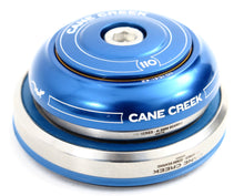 Load image into Gallery viewer, Cane Creek 110 Series integrated headset blue IS42/28.6 IS52/40 upper and lower