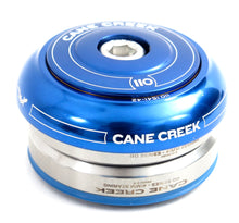 Load image into Gallery viewer, Cane Creek 110 Series integrated headset blue IS41/28.6 IS41/30 upper and lower