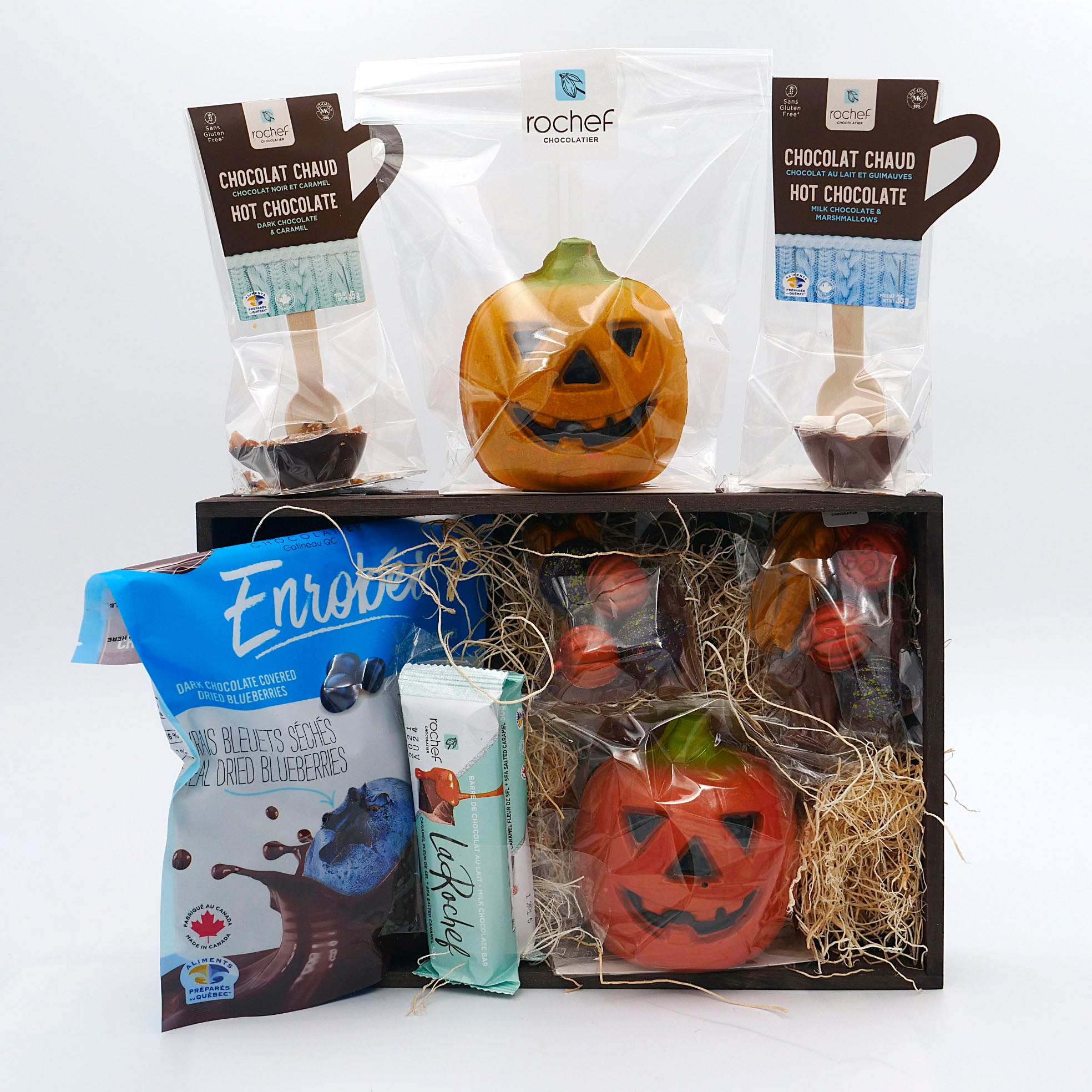 Halloween Gift Basket Blueberries