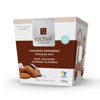 Dark chocolate covered oven roasted almonds 150g. gift box