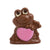 Grenouille adorable, chocolat au lait 150g.