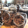 Bulk! Dark chocolate covered gluten free pretzels 500g.