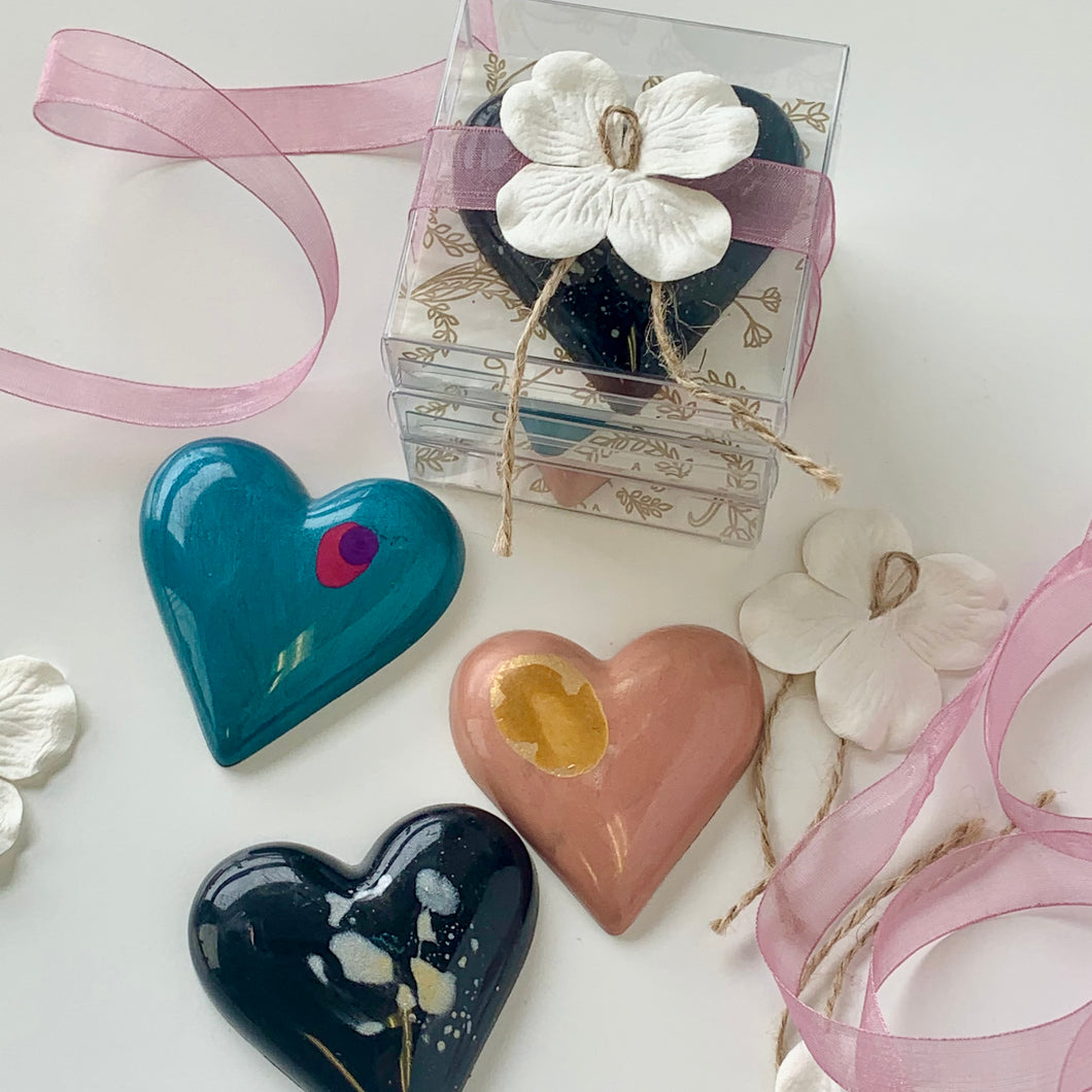 Valentines Heart Bar 3.pc Gift Set