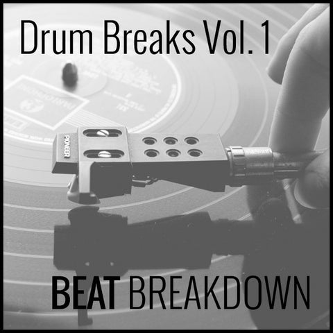Drum Breaks Vol. 1 - Drum Breaks Vinyl Rip