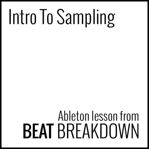 Intro To Sampling (Beginner) - Start From Scratch #3
