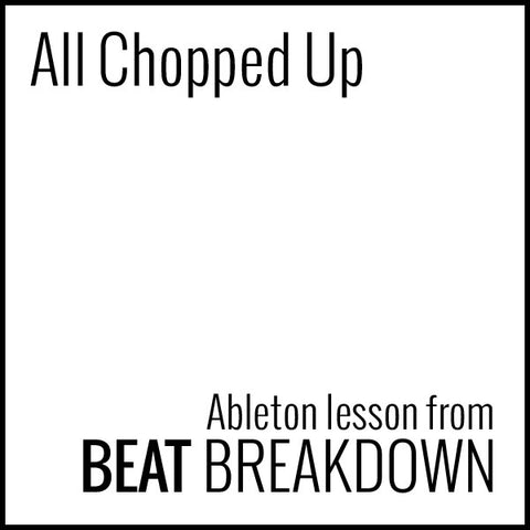 All Chopped Up (Beginner) - Start From Scratch #4