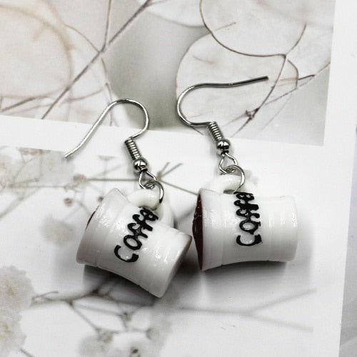 Starbucks Coffee Mug Earrings