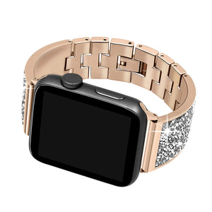 Luxury Diamond Case & Strap For Apple iWatch Band 38mm - 44mm
