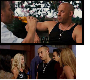 Dominic Toretto Cross Men's Necklace - Fast&Furious Inspired
