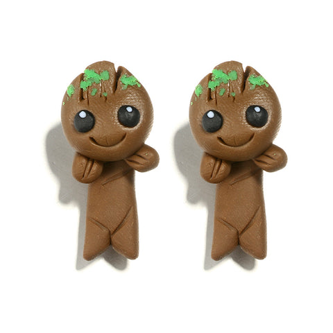 Groot Ceramic Handmade Earrings